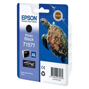 Epson original ink C13T15714010, photo black, 25,9ml, Epson Stylus Photo R3000