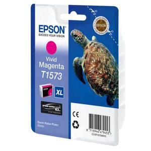 Epson original ink C13T15734010, vivid magenta, 25,9ml, Epson Stylus Photo R3000