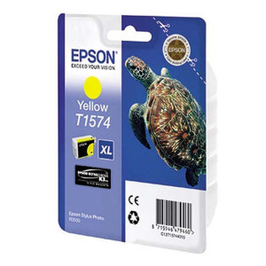 Epson original ink C13T15744010, yellow, 25,9ml, Epson Stylus Photo R3000