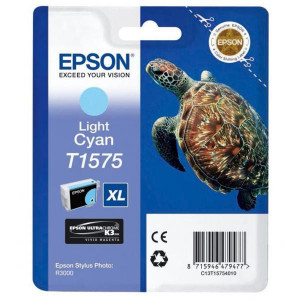 Epson original ink C13T15754010, light cyan, 25,9ml, Epson Stylus Photo R3000