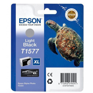 Epson original ink C13T15774010, light black, 25,9ml, Epson Stylus Photo R3000