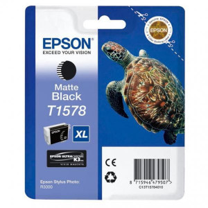 Epson original ink C13T15784010, matte black, 25,9ml, Epson Stylus Photo R3000