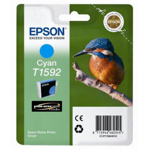 Epson original ink C13T15924010, cyan, 17ml, Epson Stylus Photo R2000
