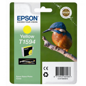 Epson original ink C13T15944010, yellow, 17ml, Epson Stylus Photo R2000