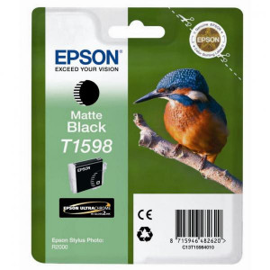 Epson original ink C13T15984010, matte black, 17ml, Epson Stylus Photo R2000