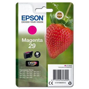 Epson original ink C13T29834012, T29, magenta, 3,2ml, Epson Expression Home XP-235,XP-332,XP-335,XP-432,XP-435