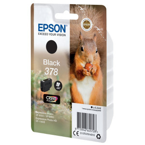 Epson originál ink C13T37814010, black, 5.5ml, Epson Expression Photo XP-8500, XP-8505, HD XP-15000