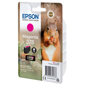 Epson originál ink C13T37834010, magenta, 4.1ml, Epson Expression Photo XP-8500, XP-8505
