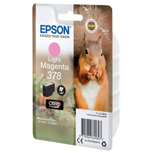 Epson originál ink C13T37864010, light magenta, 4.8ml, Epson Expression Photo XP-8500, XP-8505
