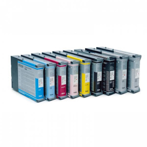 Epson original ink C13T543400, yellow, 110ml, Epson Stylus Pro 7600, 9600, PRO 4000