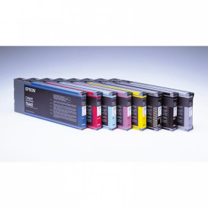 Epson original ink C13T544400, yellow, 220ml, Epson Stylus Pro 7600, 9600, PRO 4000