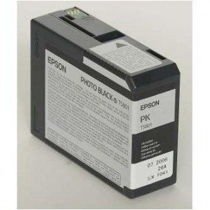 Epson original ink C13T580100, photo black, 80ml, Epson Stylus Pro 3800