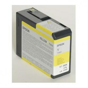 Epson original ink C13T580400, yellow, 80ml, Epson Stylus Pro 3800