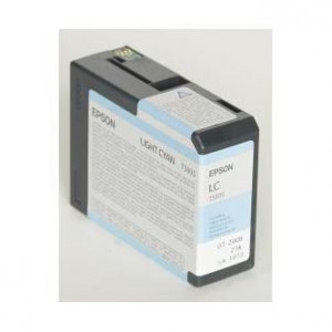 Epson original ink C13T580500, light cyan, 80ml, Epson Stylus Pro 3800