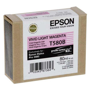 Epson original ink C13T580B00, light vivid magenta, 80ml, Epson Stylus Pro 3800