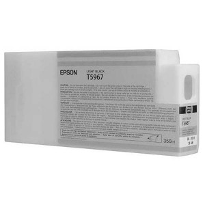 Epson original ink C13T596700, light black, 350ml, Epson Stylus Pro 7900, 9900
