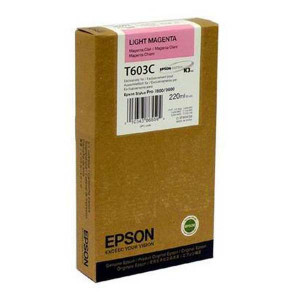 Epson original ink C13T603C00, light magenta, 220ml, Epson Stylus Pro 7800, 9800
