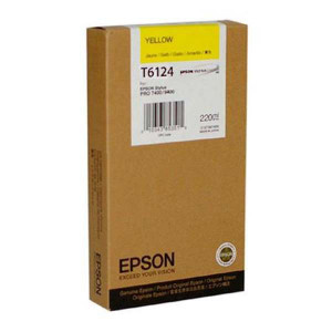 Epson original ink C13T612400, yellow, 220ml, Epson Stylus Pro 7400, 7450, 9400, 9450