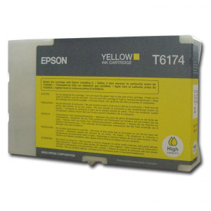 Epson originál ink C13T617400, yellow, 100ml, high capacity, Epson B500, B500DN