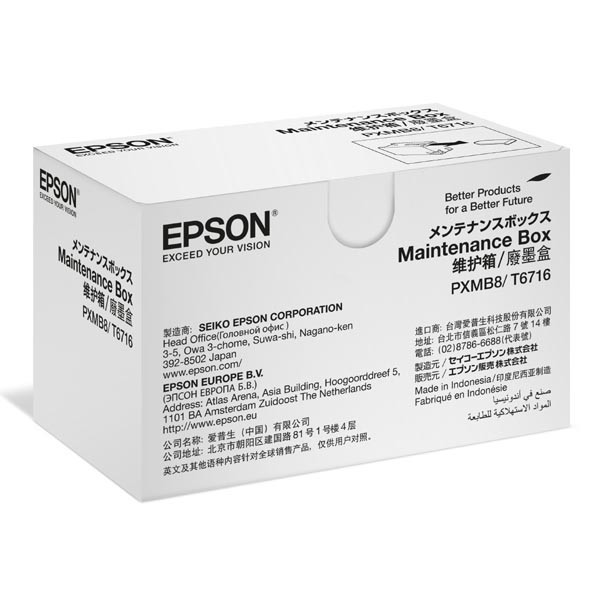 Epson original maintenance box C13T671600, Epson WF-C5xxx
