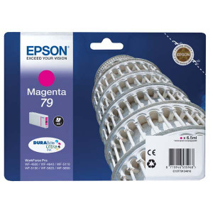 Epson original ink C13T79134010, 79, L, magenta, 800str., 7ml, 1ks, Epson WorkForce Pro WF-5620DWF, WF-5110DW, WF-5690DWF