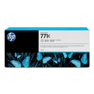 HP original ink B6Y14A, HP 771C, light gray, 775ml, HP Designjet Z6200, Z6600, Z6800