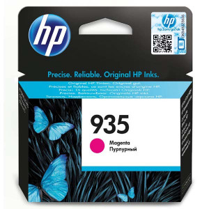 HP original ink C2P21AE, HP 935, magenta, 400str., HP Officejet 6812,6815,Officejet Pro 6230,6830,6835