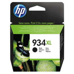 HP original ink C2P23AE, HP 934XL, black, blister, 1000str., 25,5ml, HP Officejet 6812,6815,Officejet Pro 6230,6830,6835