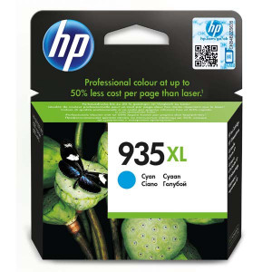 HP original ink C2P24AE, HP 935XL, cyan, 825str., 9,5ml, HP Officejet 6812,6815,Officejet Pro 6230,6830,6835