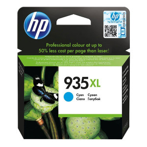 HP original ink C2P24AE, HP 935XL, cyan, blister, 825str., 9,5ml, HP Officejet 6812,6815,Officejet Pro 6230,6830,6835