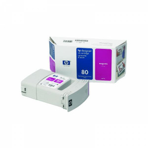 HP original ink C4847A, HP 80, magenta, 350ml, HP DesignJet 1050, C, 1055, C, CM