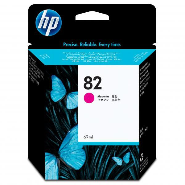 HP original ink C4912A, HP 82, magenta, 69ml, HP DesignJet 500, PS, 800, 815, cc800ps, 4200