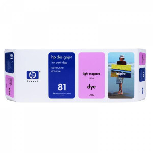 HP original ink C4935A, HP 81, light magenta, 680ml, HP DesignJet 5000, PS, UV, 5500, PS, UV