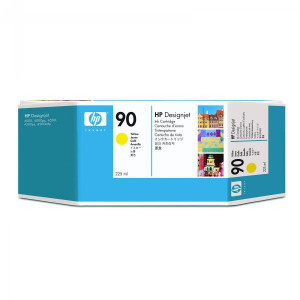 HP original ink C5064A, HP 90, yellow, 225ml, HP DesignJet 4000, 4000ps, 4500