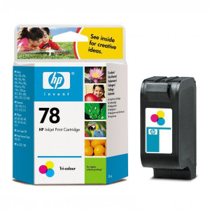 HP originál ink C6578D, HP 78, color, 560str., HP DeskJet 970Cxi, 940, psc 750, 950, 1215, P1100