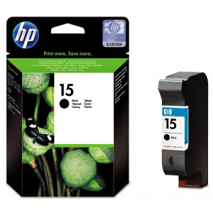 HP originál ink C6615DE, HP 15, black, 500str., 25ml, HP DeskJet 810, 840, 843c, PSC-750, 950, OJ-V40