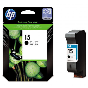HP original ink C6615DE, HP 15, black, blister, 500str., 25ml, HP DeskJet 810, 840, 843c, PSC-750, 950, OJ-V40