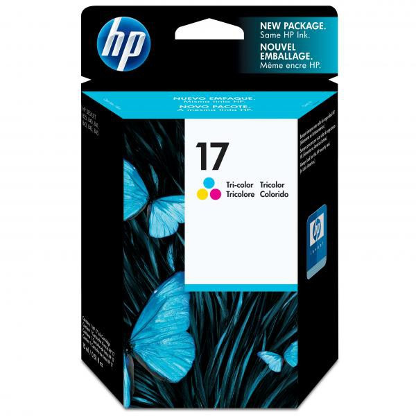 HP originál ink C6625AE, HP 17, color, 430str., 15ml, HP DeskJet 840, 843c, 845c