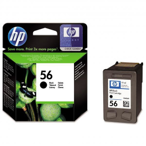 HP originál ink C6656AE, HP 56, black, 520str., 19ml, HP DeskJet 450, 5652, 5150, 5850, psc-7150, OJ-6110