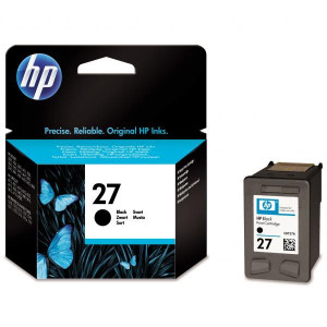 HP originál ink C8727AE, HP 27, black, 10ml, HP DeskJet 3420, 3325, 3520, 3550, 3650