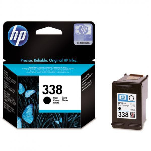 HP original ink C8765EE, HP 338, black, blister, 450str., 11ml, HP Photosmart 8150, 8450, OJ-6210, DeskJet 5740