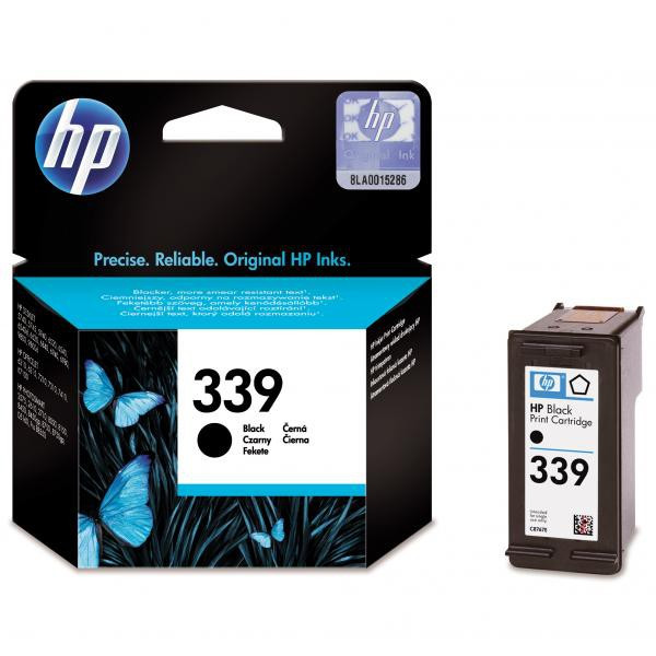 HP original ink C8767EE, HP 339, black, 800str., 21ml, HP Photosmart 8150, 8450, OJ-7410, DeskJet 5740