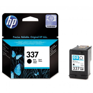 HP originál ink C9364EE, HP 337, black, blister, 400str., 11ml, HP Photosmart D5160, C4180, 8750, OJ-6310, DJ-5940