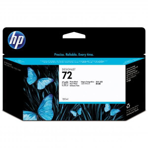 HP originál ink C9370A, HP 72, photo black, 130ml, HP Designjet T1100, T770