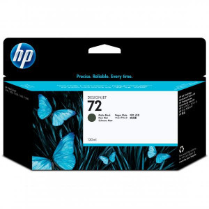 HP originál ink C9403A, HP 72, matte black, 130ml, HP Designjet T1100, T770