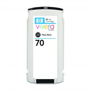 HP original ink C9449A, HP 70, photo black, 130ml, HP Designjet Z3100, Z2100