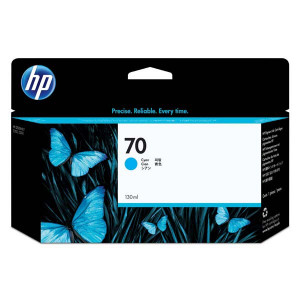 HP original ink C9452A, HP 70, cyan, 130ml, HP Designjet Z3100, Z2100