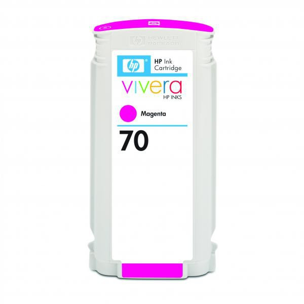 HP original ink C9453A, HP 70, magenta, 130ml, HP Designjet Z3100, Z2100
