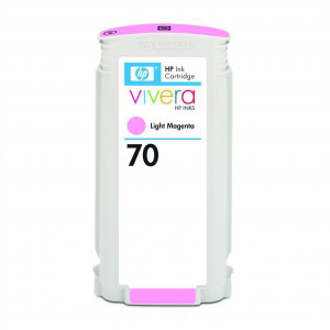 HP original ink C9455A, HP 70, light magenta, 130ml, HP Designjet Z3100, Z2100