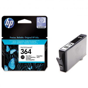 HP original ink CB317EE, HP 364, photo, 130str., HP Photosmart B8550, C5380, D5460